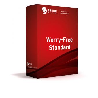 Trend Micro Worry-Free Standard Services, Lizenz verlängern, 2-5 User, 1 Jahr