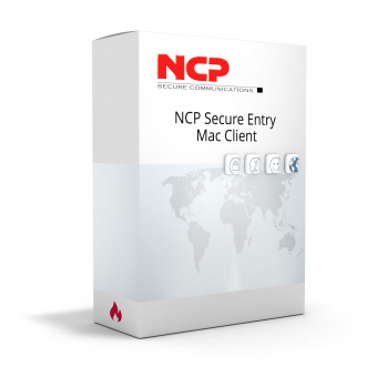 NCP Secure Entry Mac Client,License scale 1-9 User