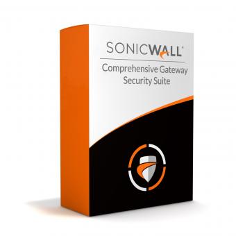 SonicWall Comprehensive Gateway Security Suite (CGSS) für SonicWall SOHO/SOHO Wireless Firewall, Lizenz verlängern oder erstmalig kaufen, 1 Jahr