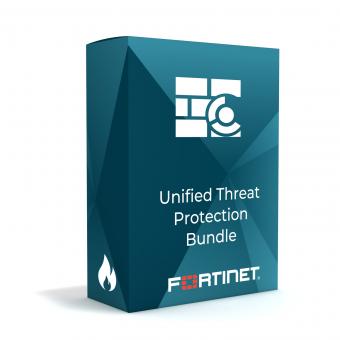 Fortinet FortiGuard Unified Threat Protection (UTP) Bundle Lizenz für FortiGate 200F, 1 Jahr