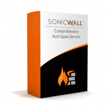Sonicwall Comprehensive Anti-Spam Service License for SonicWall TZ 570 Firewall, Renew license or buy initially, 1 year