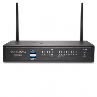 SonicWall TZ 370 Wireless Firewall Secure Upgrade Plus Essential Edition, 3 years (Trade-in/Trade-up special pricing)